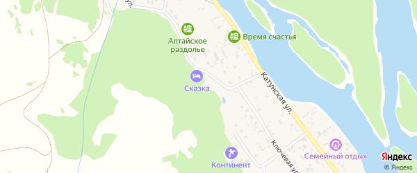 Березовая улица на карте садового некоммерческого товарищества N 8 с номерами домов