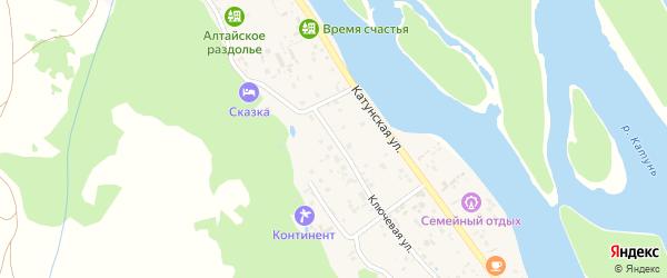 Ключевая улица на карте села Аи с номерами домов