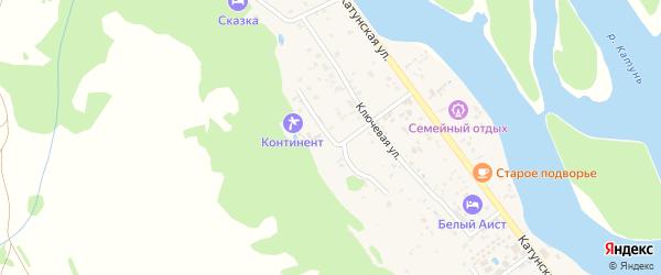 Березовая улица на карте села Аи с номерами домов