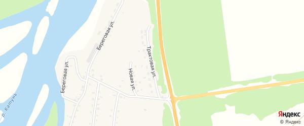 Трактовая улица на карте села Быстрянки с номерами домов