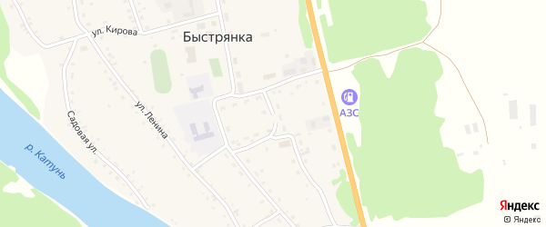 Мартовский переулок на карте села Быстрянки с номерами домов