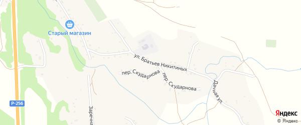 Улица Братьев Никитиных на карте села Березовки с номерами домов