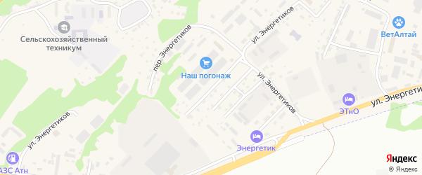 3-я Пушкинская улица на карте села Майма с номерами домов