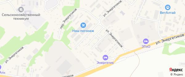 2-я Пушкинская улица на карте села Майма с номерами домов