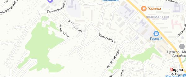 Коксинская улица на карте Горно-Алтайска с номерами домов