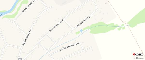 Молодежная улица на карте села Тогула с номерами домов