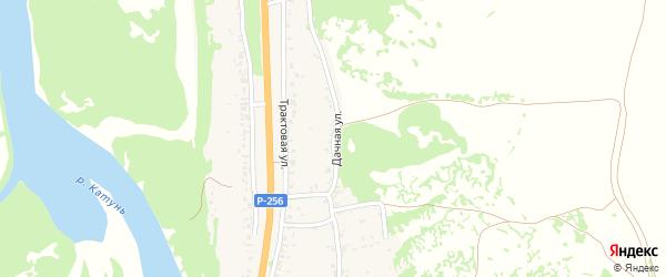 Дачная улица на карте поселка Долиной Свободы с номерами домов