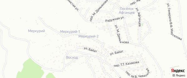 Телеутская улица на карте Горно-Алтайска с номерами домов