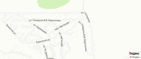 Радужный переулок на карте Горно-Алтайска с номерами домов