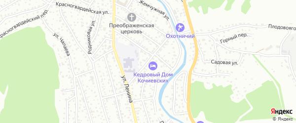 Трудовая улица на карте Горно-Алтайска с номерами домов