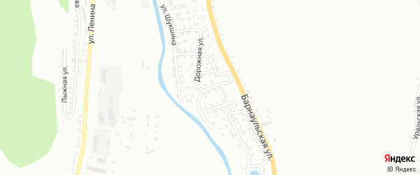 Улица Зеленый берег на карте Горно-Алтайска с номерами домов