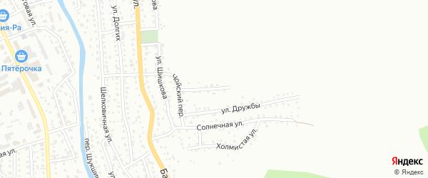 Чойская улица на карте Горно-Алтайска с номерами домов