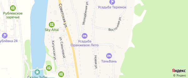 Новая улица на карте села Элекмонар с номерами домов