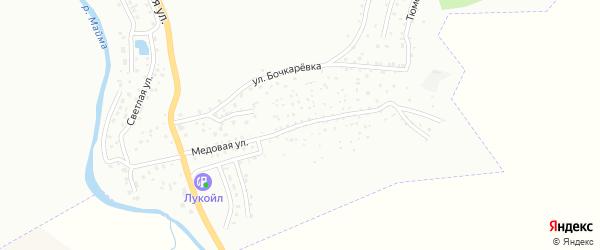 Медовая улица на карте Горно-Алтайска с номерами домов