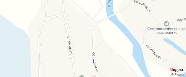 Юбилейная улица на карте села Победы с номерами домов