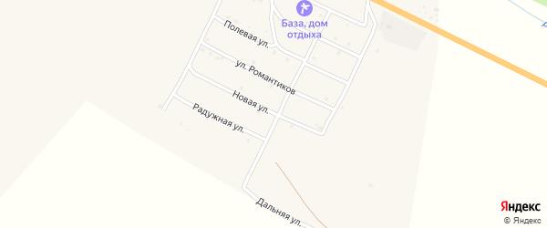 Новая улица на карте села Онгудая с номерами домов