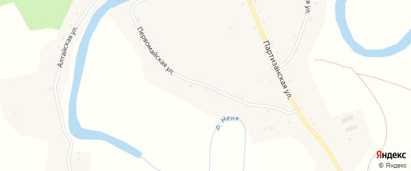 Первомайская улица на карте села Ненинки с номерами домов