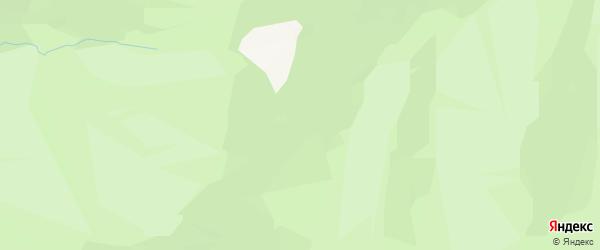 Карта поселка Верха-Чепоша в Алтае с улицами и номерами домов