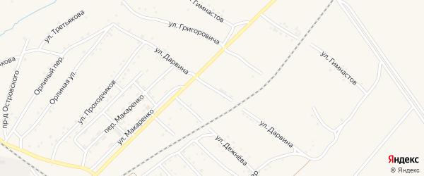 Улица Дарвина на карте Полысаево с номерами домов