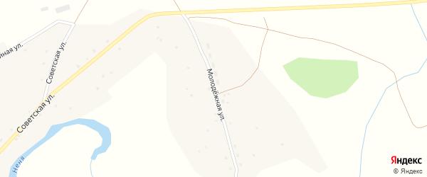 Молодежная улица на карте села Карабинка с номерами домов
