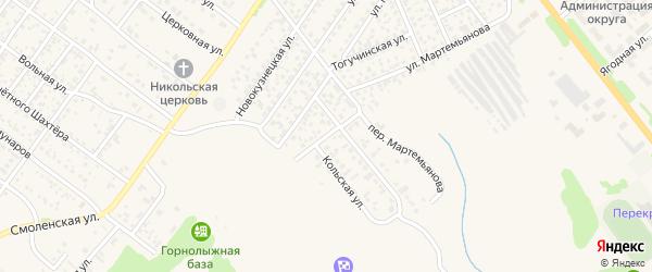 Пермская улица на карте Полысаево с номерами домов