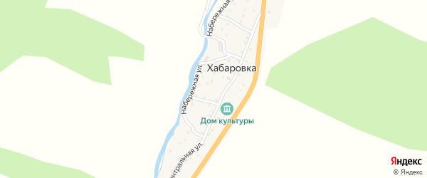 Южная улица на карте села Хабаровки с номерами домов