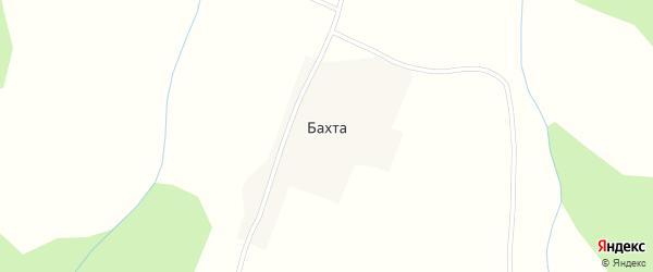 Береговая улица на карте села Бахта с номерами домов