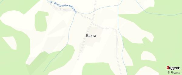 Карта села Бахта в Алтайском крае с улицами и номерами домов