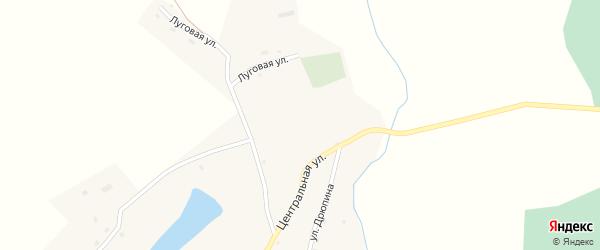 Улица Дрюпина на карте села Сузоп с номерами домов