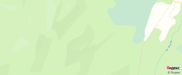 Карта села Большей Кузи в Алтае с улицами и номерами домов