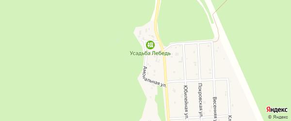 Амональная улица на карте села Турочак с номерами домов