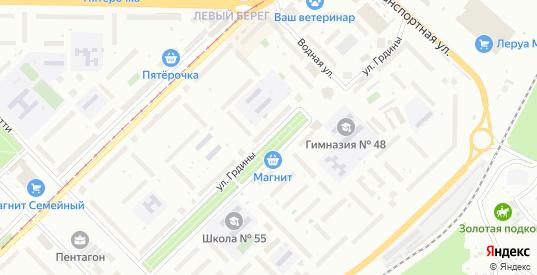 Улица Грдины в Новокузнецке