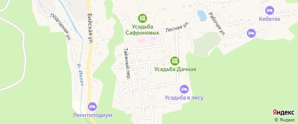 Больничная улица на карте села Иогач с номерами домов