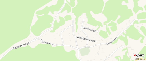 Веселый переулок на карте села Артыбаш с номерами домов