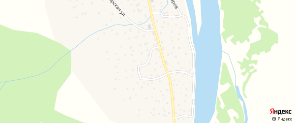 Оригинальная улица на карте села Балыкча с номерами домов