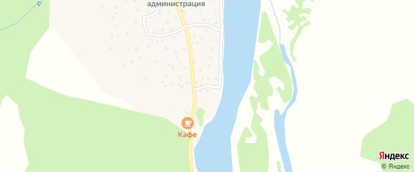Пароходная улица на карте села Балыкча с номерами домов