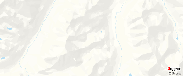 Карта Тебелерского сельского поселения республики Алтай с районами, улицами и номерами домов