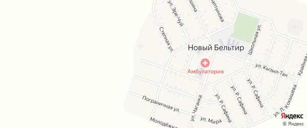 Алтайская улица на карте села Нового Бельтира с номерами домов