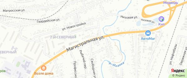 Магистральная улица на карте Канска с номерами домов