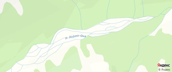 Карта местечка Хойто Бэе в Бурятии с улицами и номерами домов