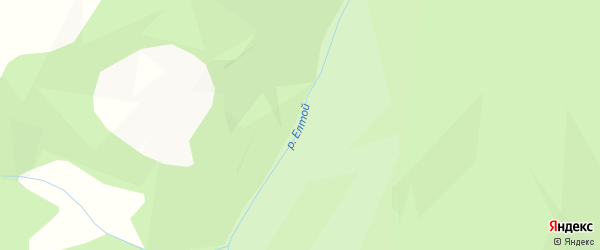 Карта местечка Елтоя в Бурятии с улицами и номерами домов