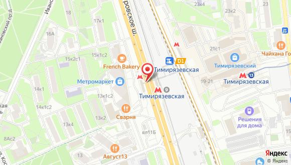 Карта станции метро
