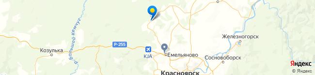 Дорожная карта красноярского края