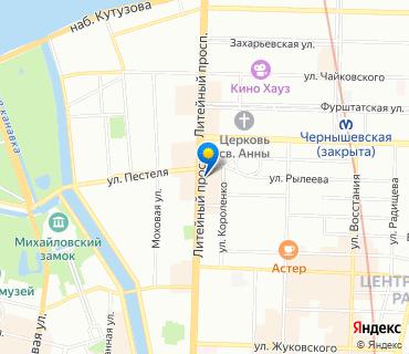 Клиника на карте