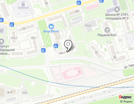 Москва ул герасима курина,филевский парк.