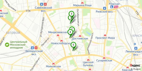 Работа у метро савеловская
