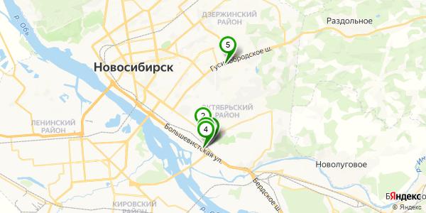 Знакомства на карте новосибирск