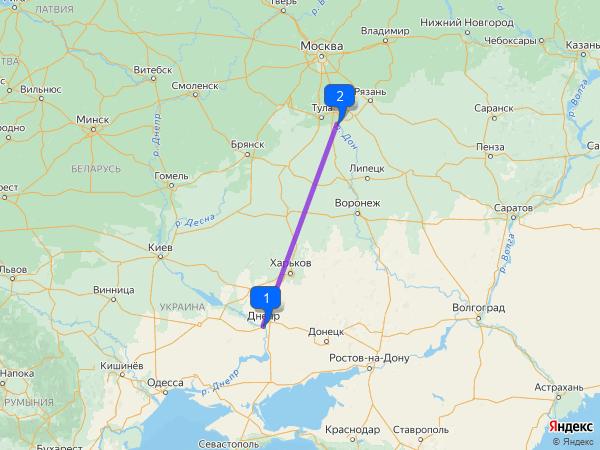 Днепропетровск – Новомосковск