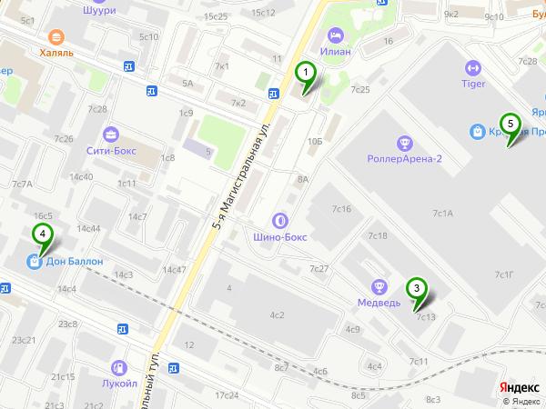 2я Магистральная улица  MosOpenru