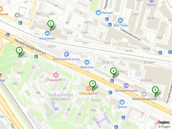 Индекс по адресу в г Москве